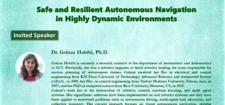 وبینار رایگان Safe and Resient Autonomous Navigation in Highly Dynamic Environments