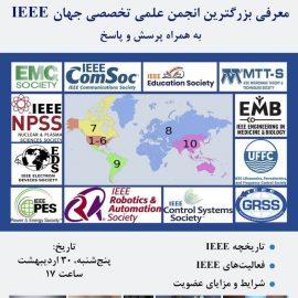 معرفی بزرگترین انجمن علمی تخصصی جهان IEEE