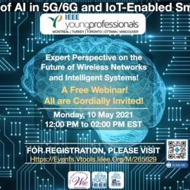 وبینار رایگان The Role of AI in 5G/6G and IoT-Enabled Smart Grids