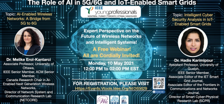 وبینار رایگان The Role of AI in 5G6G and IoT-Enabled Smart Grids
