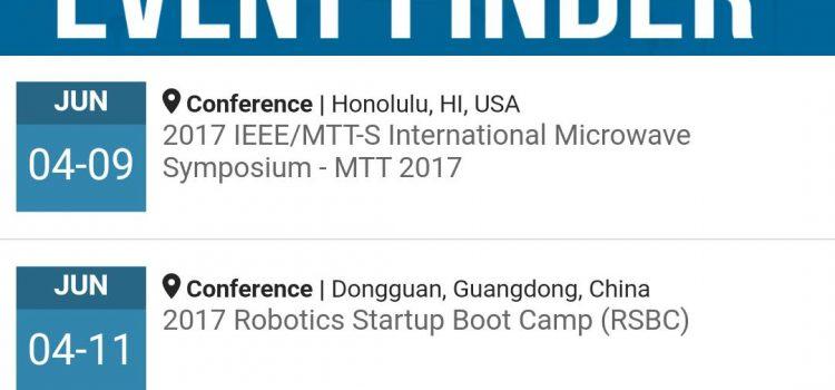 معرفی اپلیکیشن رسمی IEEE برای موبایل جهت آگاهی از کنفرانس های IEEE در کشورهای مختلف