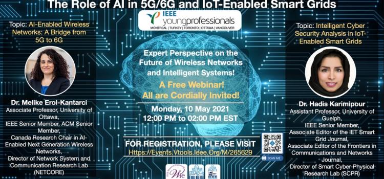 وبینار رایگان The Role of AI in 5G6G and IoT-Enabled Smart Grids